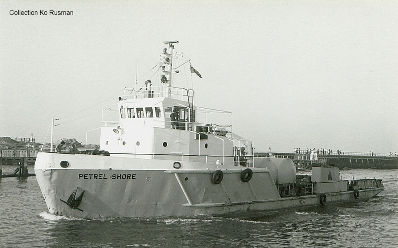 mv Petrel Shore, Offshore Marine