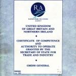 GMDSS-Radio Certificate